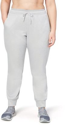 Core 10 Amazon Brand Women's Chill Out Fleece Jogger Sweatpant (XS-XL Plus Size 1X-3X)