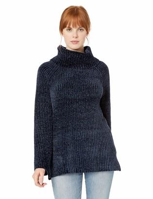 Lucky Brand Women's Chenille Cowl Neck Sweater