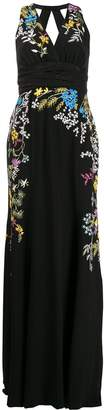 Etro embroidered long dress