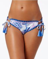 Becca Juliet Side-Tie Cheeky Hipster Bikini Bottoms