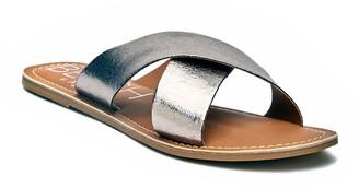 BEACH BY MATISSE Pebble Women's Slide Sandals