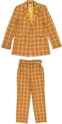 Jonathan Simkhai Camel Polyester Jackets