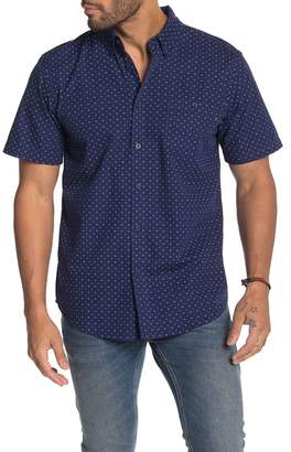 Obey Atticus Regular Fit Woven Short Sleeve Shirt