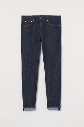 H&M Slim Selvedge Jeans