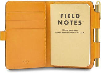 Bosca Italo Leather Field Journal