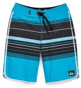 Quiksilver Boys Pacific Stripe Swim Bottom Board Shorts