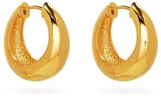 Sophie Buhai Hinged Large Gold-vermeil Hoop Earrings - Gold
