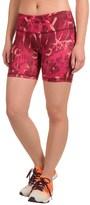 Reebok Pop Print Quick Shorts (For Women)