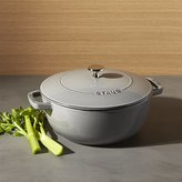 Crate & Barrel Staub ® 3.75-Qt. Graphite Grey Essential French Oven