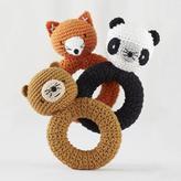 Baby Essentials Animal Knit Rattles Set of 3