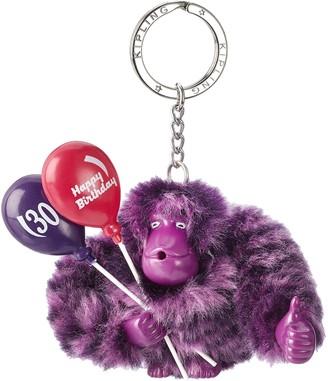 Kipling Happy 30 Womens Keyring Violett (Happy Purple) 9x9.5x4.5 cm (B x H T)