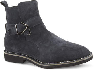 Vintage Foundry Grayson Suede Buckle Moto Boots