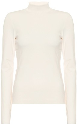 Joseph Stretch-silk turtleneck sweater