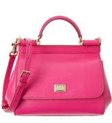Dolce & Gabbana Sicily Mini Leather Satchel
