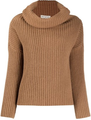 Ma Ry Ya Cowl Roll-Neck Jumper