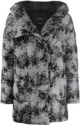 Herno patterned padded jacket