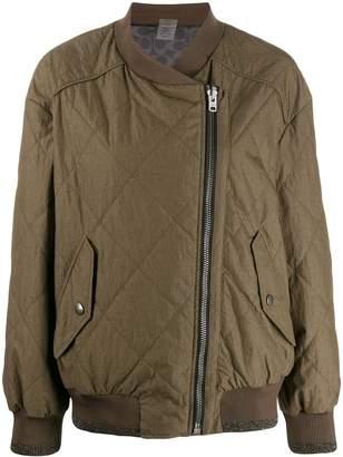 Coach zipped bomber jacket