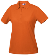 Clique Orange Elmira Polo - Plus Too