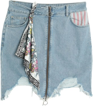 Silvian Heach Denim skirts