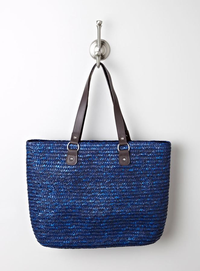Magid Solid Straw Tote A