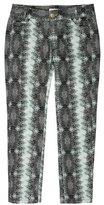 Derek Lam 10 Crosby Printed Skinny Pants