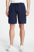 Vilebrequin Men's Linen Bermuda Cargo Shorts