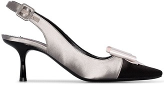 Gabor Fabrizio Viti 65mm bow detail pumps
