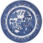 Churchill Blu Willow Mint Plate 17CM, Ceramic, Multi-Colour, 17 x 17 x 1 cm