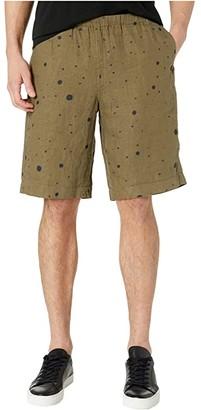 Paul Smith PS Linen Shorts (Light Grey) Men's Shorts