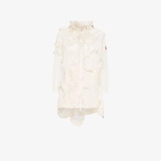 MONCLER GENIUS 4 Moncler Simone Rocha Cropped Sleeve Ruffled Jacket