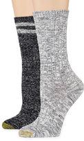 Gold Toe 2-pr. Slub Boot Crew Socks