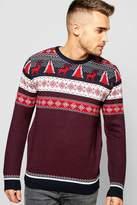 Boohoo Fairisle Christmas Jumper