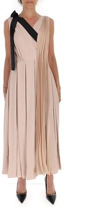 Prada Pleated Maxi Dress