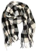 BP Junior Women's Buffalo Plaid Oblong Scarf