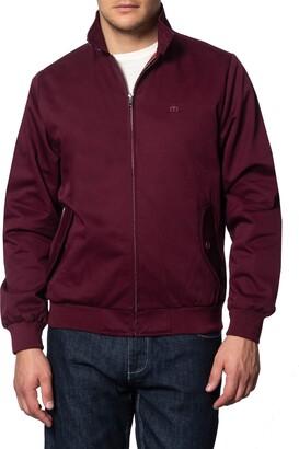 Merc Men's Harrington Jacket in Red XX-Large (UK: XXL)