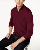 Club Room Men's Quarter-Zip Merino Sweater, Created for Macy's