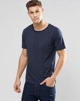 HUGO BOSS HUGO by T-Shirt With Pinstripe