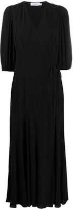 Calvin Klein V-Neck Maxi Dress