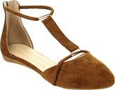 Westbuitti Women's Nina-4 Strappy Pointed Toe Flat