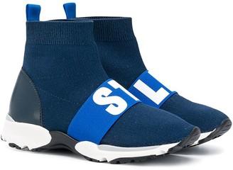 Stella McCartney Kids Sock-Style Sneakers