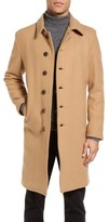 Schott NYC Men's Wool Blend Officer's Coat