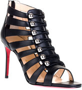Christian Louboutin Denis leather cutout sandal