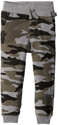 Splendid Littles Camo Joggers (Toddler/Little Kids) (Dark Heather Grey) Boy's Casual Pants