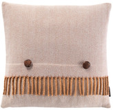 "Pendleton Herringbone Decorative Pillow - 18\"" x 18\"" - Camel"