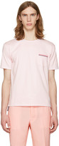 Thom Browne Pink Pocket T-shirt