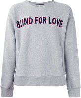 Gucci statement embroidery sweatshirt - men - Cotton - M