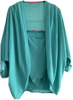 Ungaro Turquoise Cashmere Knitwear for Women