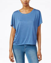 Rachel Roy Split-Back Short-Sleeve Top