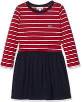 Lacoste Girl's Ej8888 Dress,(Manufacturer Size: 5A)