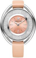 Swarovski Crystalline Oval Light Rose Watch